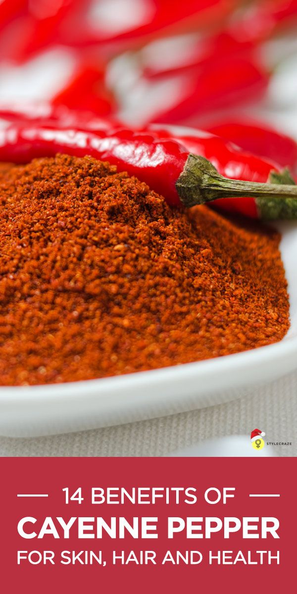 Cayenne pepper i a very tasty spice that adds flavour to dishes. Here are its amazing skin, hair & health benefits mentioned along with its ..