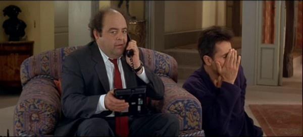 La Cena de los Idiotas (Le dîner de cons) (1998) - Dirigida por Francis Veber y protagonizada por Jacques Villeret, Thierry Lhermitte, Francis Huster, Daniel Prévost y Alexandra Vandernoot.