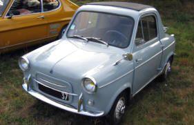 1953 1956 Siata Mitzi Microcar Classic Microcars Parts For Sale