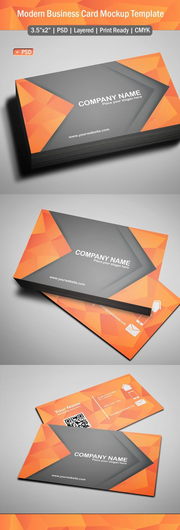Best 25 modern business cards ideas on pinterest free business free modern business card template psd magicingreecefo Choice Image