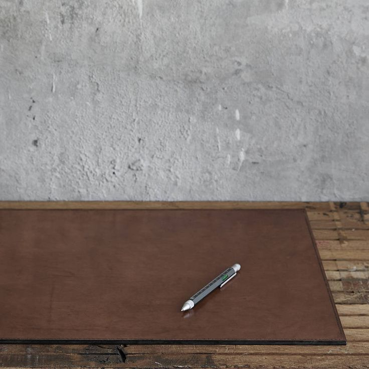 Personalised Leather Desk Mat