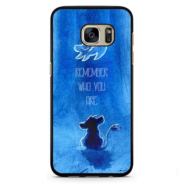 The Lion King Movie, Simba, Remember Who You Are Hakuna Matata Phonecase Cover Case For Samsung Galaxy S3 Samsung Galaxy S4 Samsung Galaxy S5 Samsung Galaxy S6 Samsung Galaxy S7