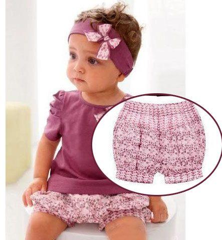 Панталончики под платье для малышки - Одежда для малышей - Выкройки для детей - Каталог статей - Выкройки для детей, детская мода