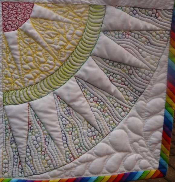Quilting! seen on it-is-not-the-destination-but-the-journey: Quilts Patterns, Quilts Inspiration, Beautiful Quilts, Quilts Stuff, Quilts Example, Machine Quilts, Free Motion Quilts, Quilts Ideas, Quilti Stuff