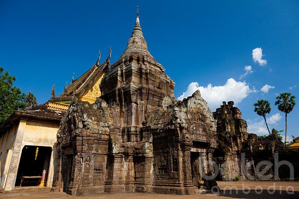 Ancient temple ruins of Wat Nokor | Kampong Cham Province, Cambodia