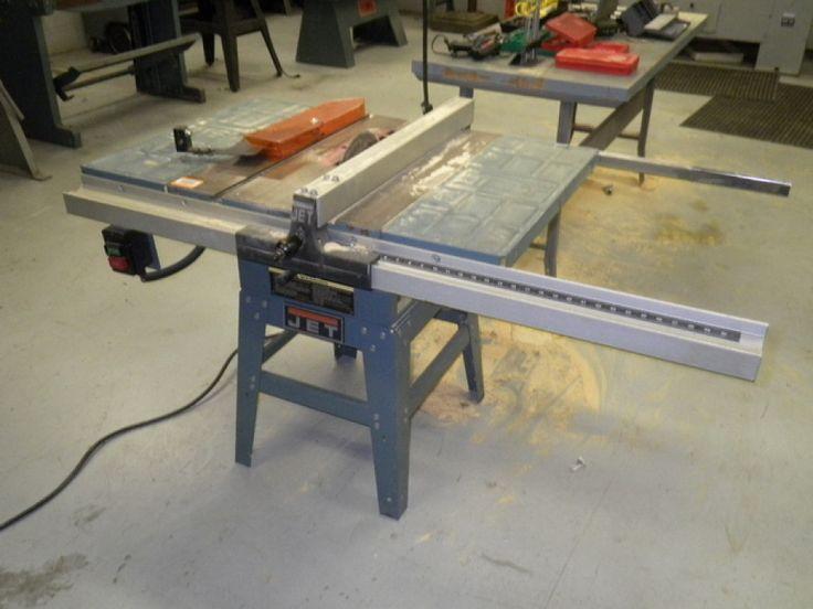 Jet Table Saw, 1.5 hp, 115/230VAC, 60Hz, Loc. machine shop