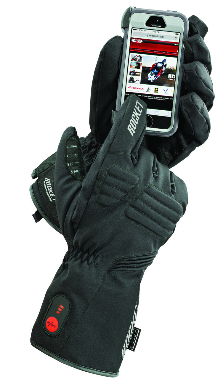 Burner (Textile) — Cordless Heated Glove. Up to 4 hours of warmth.