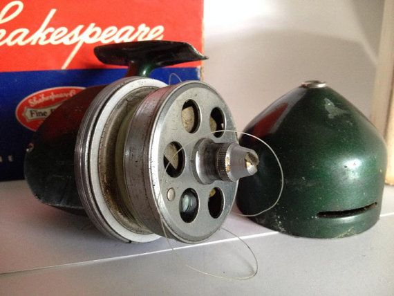 Vintage Shakespeare Fishing Reel with Box by TwoGreysVintage, $19.00