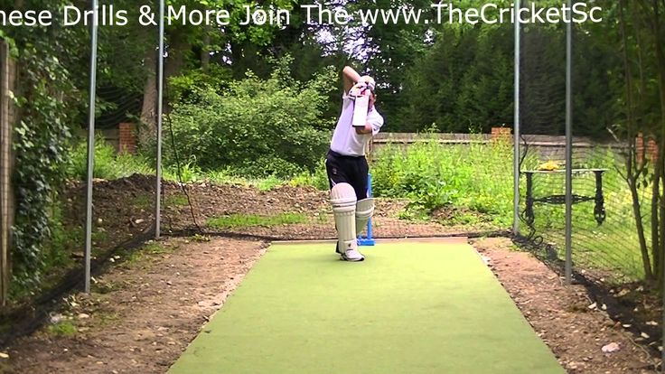 LeftHand HD Cricket Coaching Batting Drills Training Visual Lessons on H...