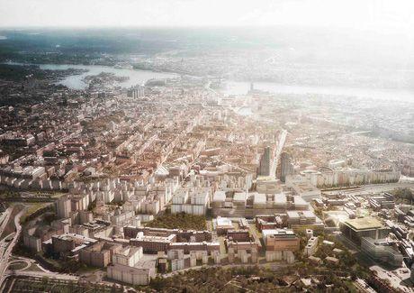Oscar Properties : Helix och Innovationen #oscarproperties  Norra Tornen, view, skyscraper