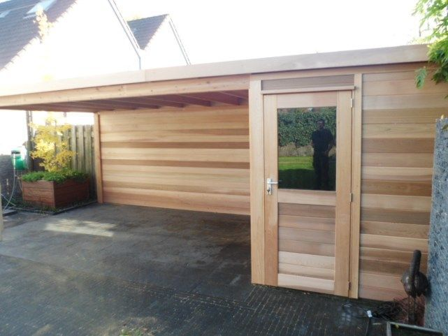 14 best abris images on Pinterest Arbors, Car shed and Home ideas