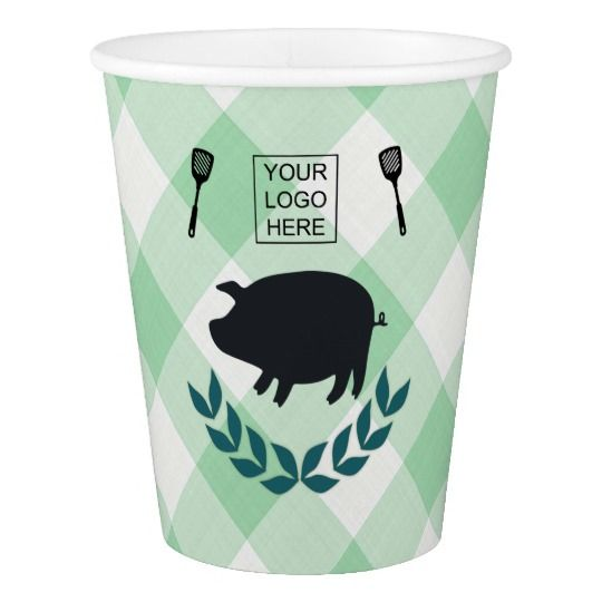 Summer BBQ Picnic Corporate Party Customizable Paper Cup