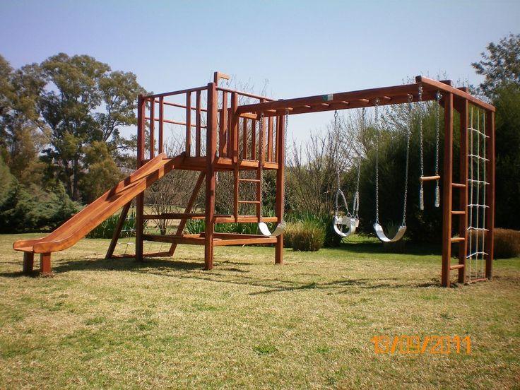 Juegos de madera para jardin juego indiana sc juegos para casas particulares pinterest - Juegos de jardin para nios madera ...