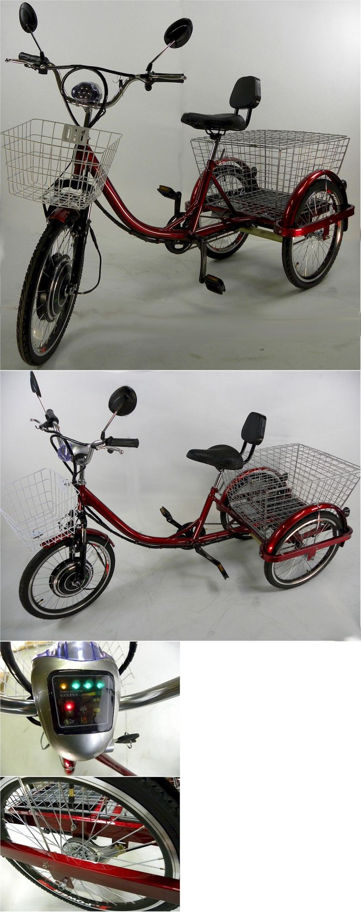 Electric bicycles 74469 electric tricycle scooter for adults motorized trike buy it