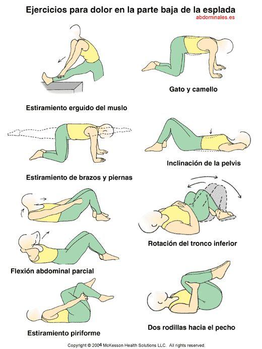 Ejercicios para dolor de espalda