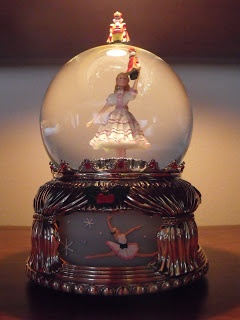 Christmas Favorites Nutcracker Suite Snow Globe
