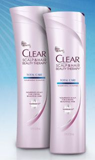 Today Only: FREE Clear Shampoo Coupon!