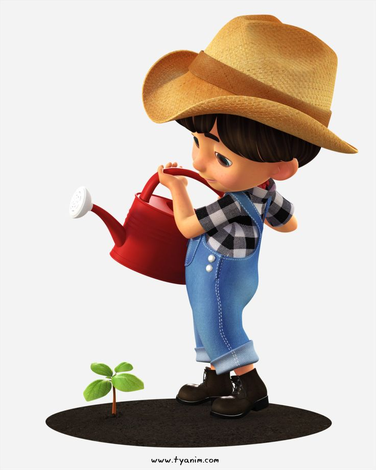Wonderful 3D kid toon character. This little fellow here ready to help.