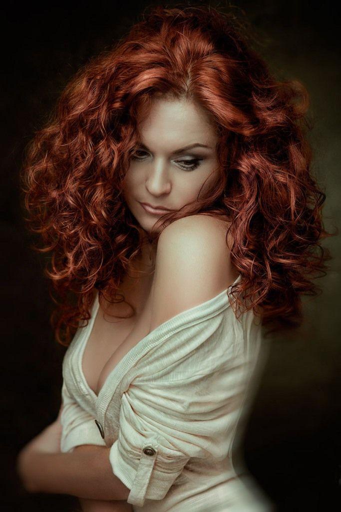 Portrait Photography  Beautiful Red Hair, Beautiful -1632
