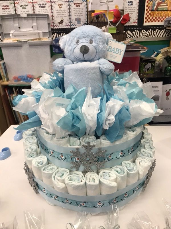 Diaper Cake Baby Kids In Commerce Ca Baby Shower Gifts Baby Shower Decorations For Boys Baby Shower