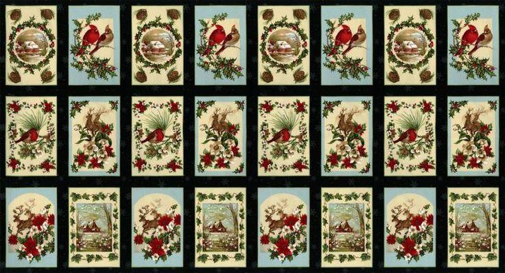 Новогодняя панель для пэчворка • ТКАНИ ДЛЯ ПЭЧВОРКА • Купить ткань в интернет-магазине ВСЕ ТКАНИ • Онлайн-КАТАЛОГ ТКАНЕЙ