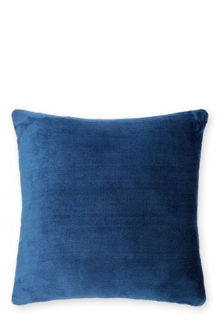 Navy Super Soft Fleece Cushion