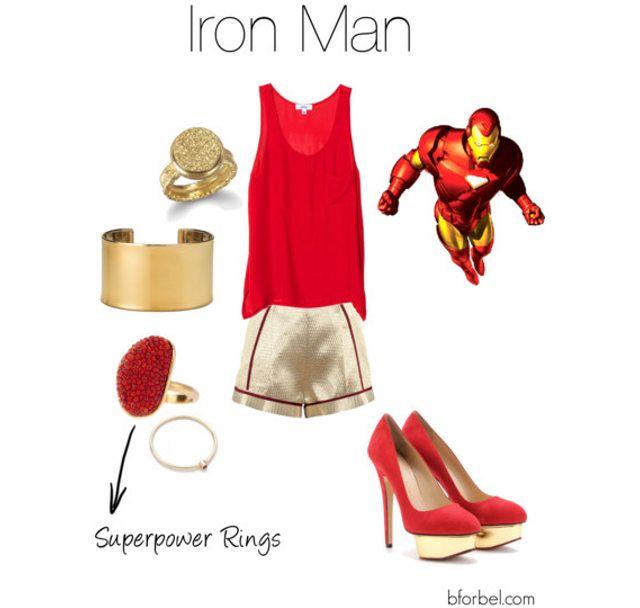 Superhero High Fashion