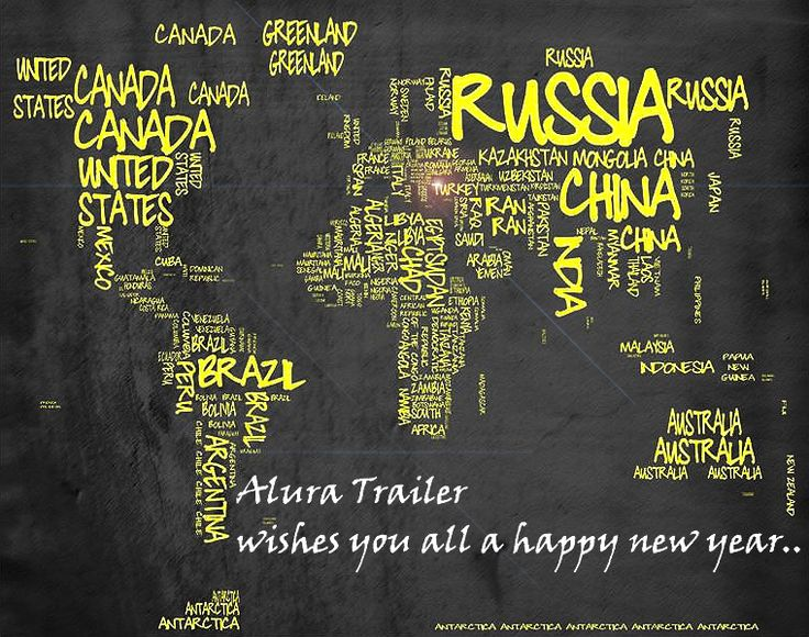 We wish you a happy new year - Alura Trailer - Turkey Semi Trailer Manufacturer