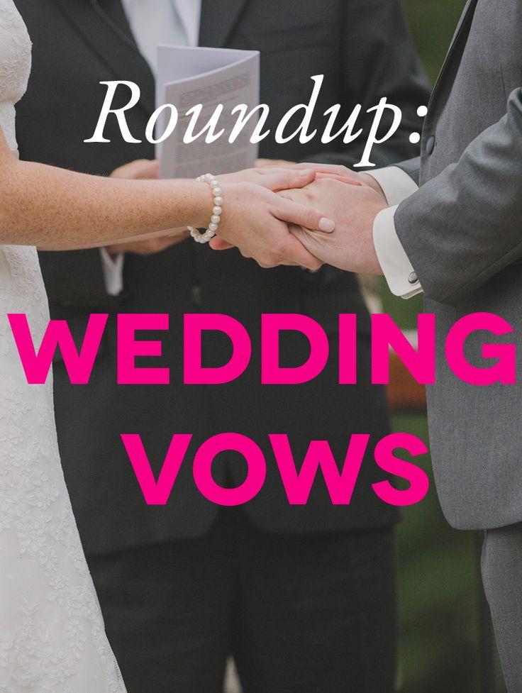 Best 25 Sample wedding vows ideas on Pinterest