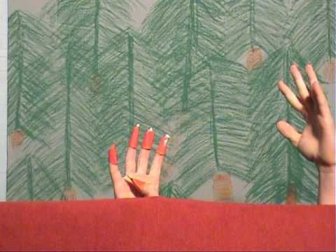 Fingerspiel-TV, Folge 5: Fünf kleine Weihnachtswichtel - YouTube