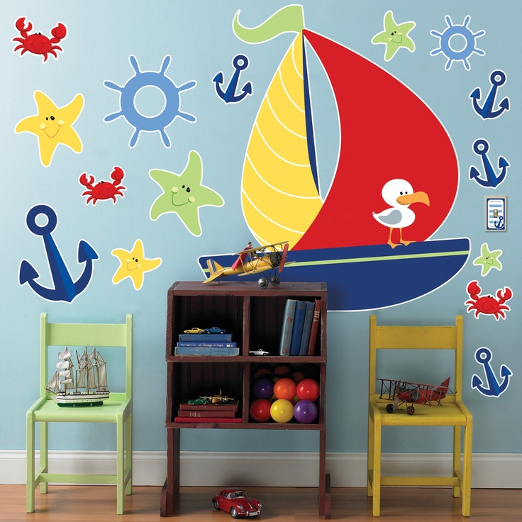 My Future Child Will Have A Nautical Nursery. I Will Fight To The Death For  · Kids Wall DecalsNursery ... Part 90
