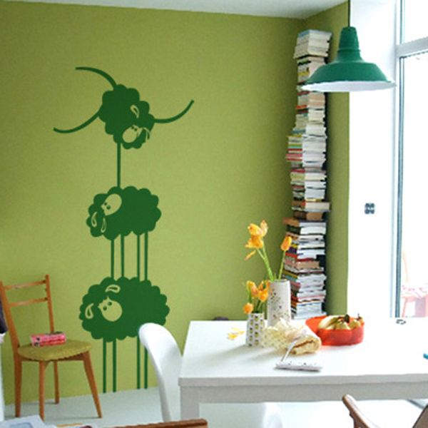 Картинки по запросу дизайнерские наклейки на стены