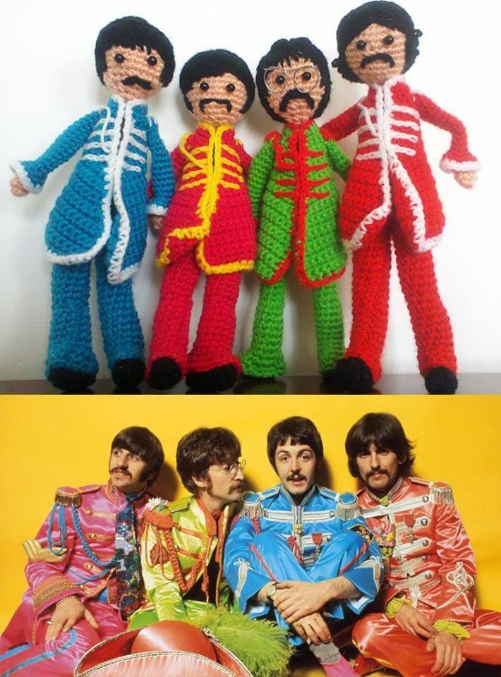 Beatles amigurumi
