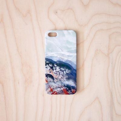 Agate Iphone Case  5 / 5S by Debbie Carlos