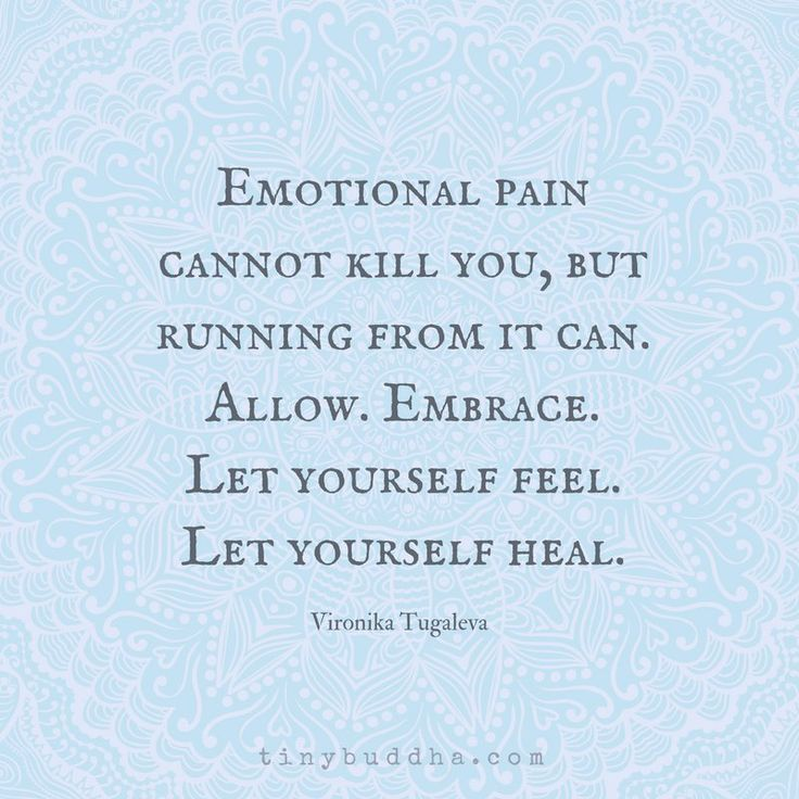 Image result for emotional pain cannot kill you