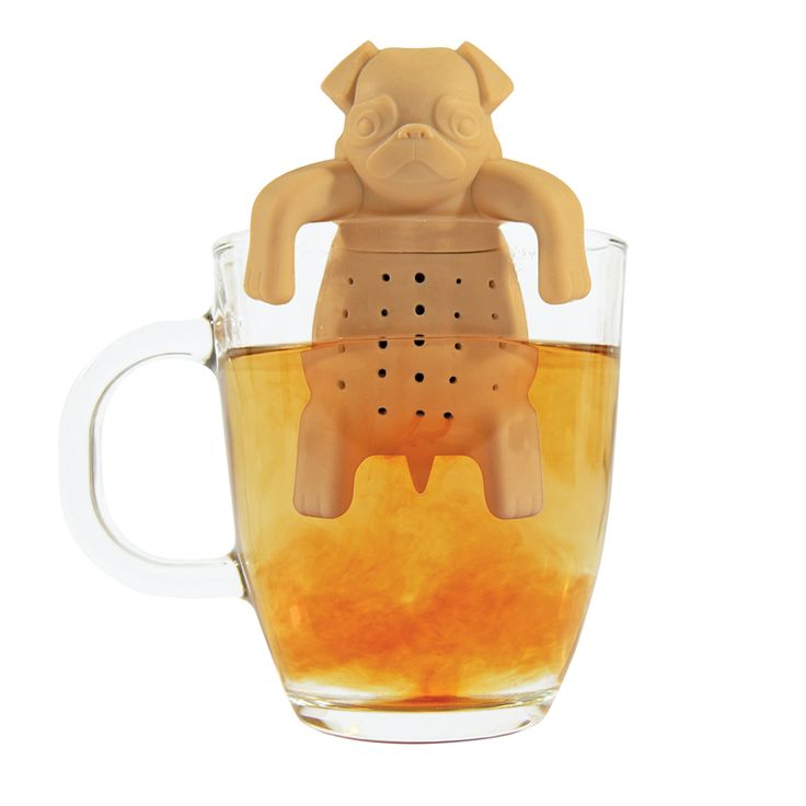 Zaparzacz do herbaty MOPS – Pug in a mug Zaparzacze do herbaty RadosnaKuchnia.pl