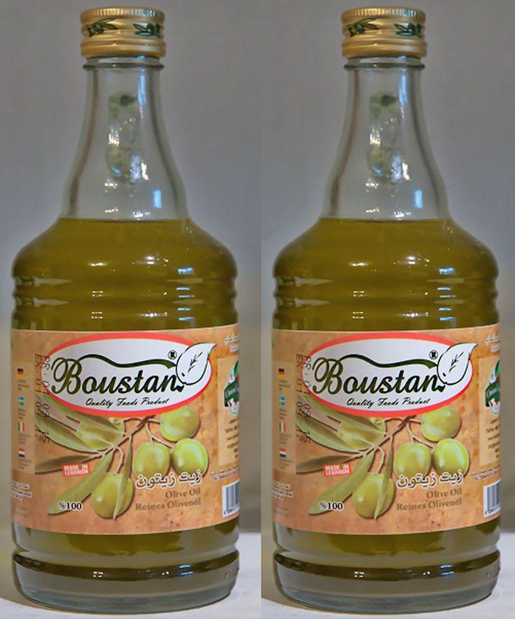 4 Flaschen Feines Olivenöl jede Flasche 500 ml: Olivenöl Natur.