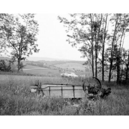 USA Tennessee Farm country Canvas Art - (18 x 24)