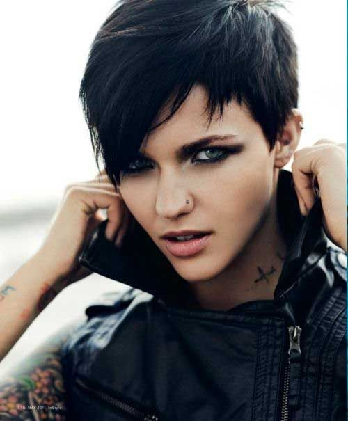 Picture of Womens Short Haircut
