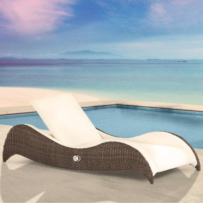 Domus Ventures Luxor Sunlounger Chaise Lounge