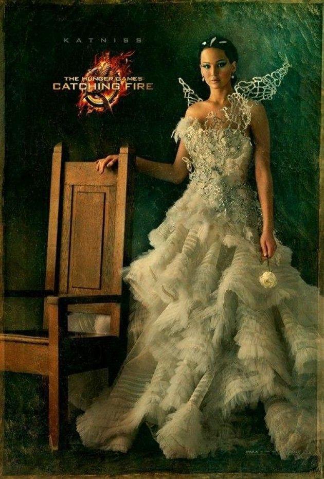 """""""Em Chamas"""": personagens da sequência de """"Jogos Vorazes"""" ganham retratos - Katniss"""
