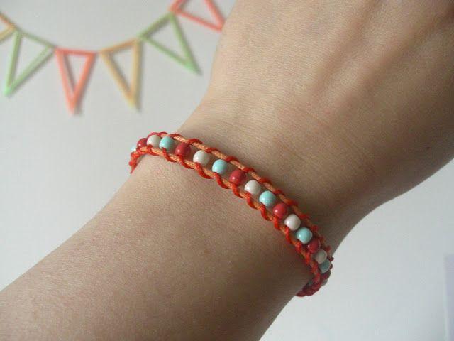Petit bracelet pour l'ete