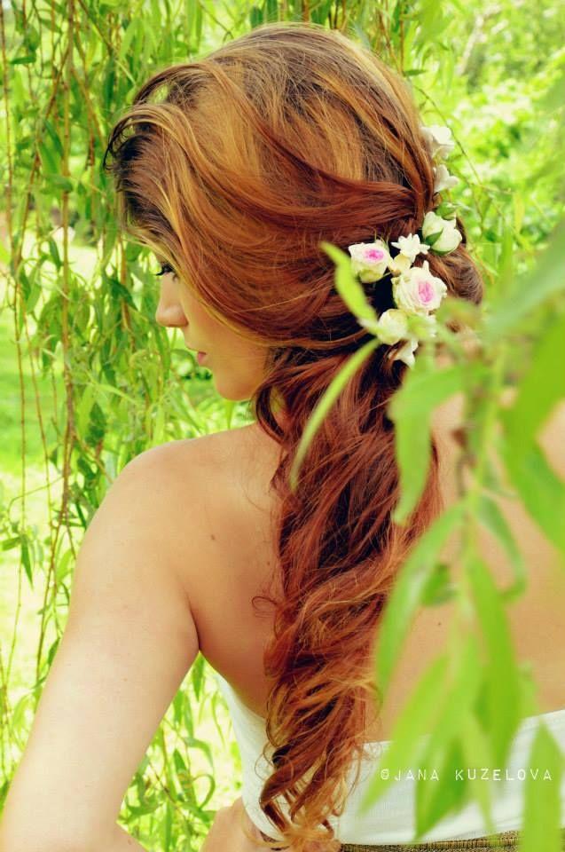 nevěsta ve vrboví