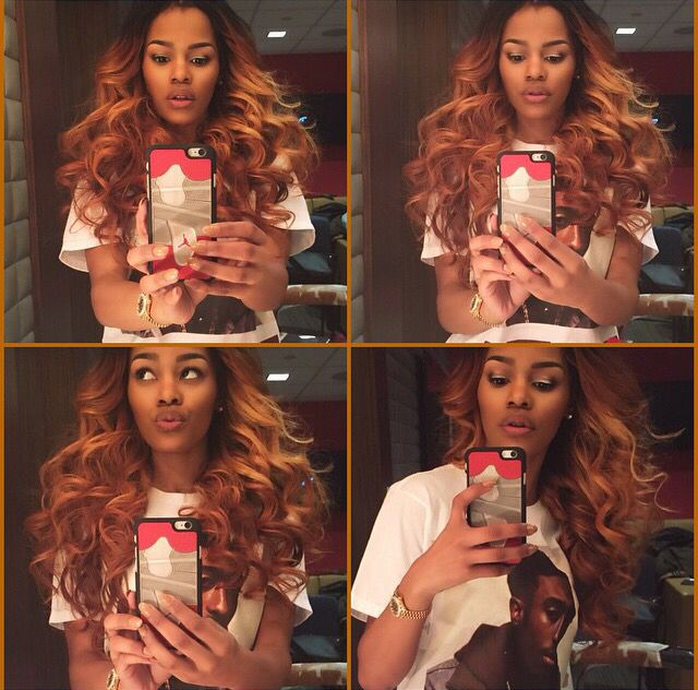 263 best weave images on pinterest hair braids and hair weaves ombr auburn brown blonde pmusecretfo Images