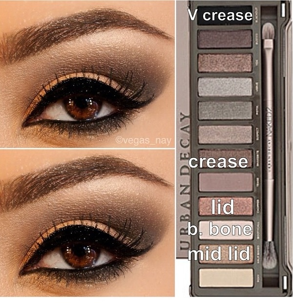 Naked 2 palette - my favorite eye shadow ever!
