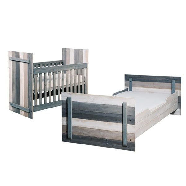 Bopita Gibson Combi Wood Umbaubares Bett 60 X 120 Auf 90 200 Cm