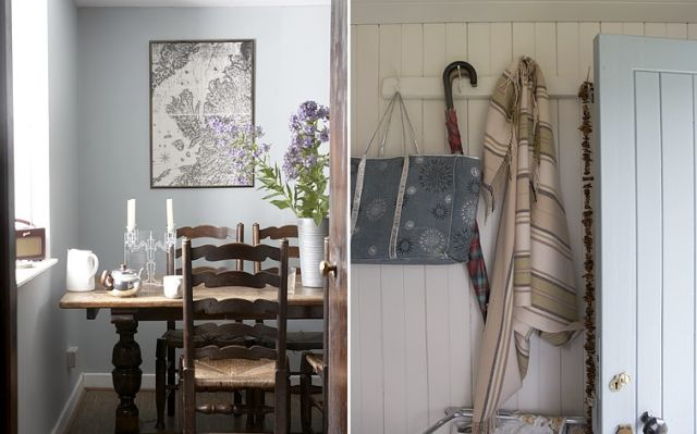 Rosie Brown mixes modern finds with rustic pieces, including locally made goods.