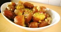 Ultimate Hot Potato Salad #salad #vegetables #potatoes