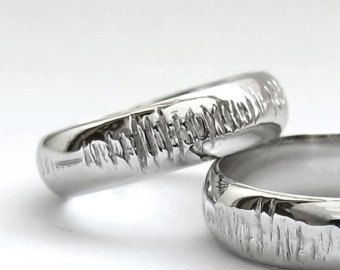 198 best his her matching wedding bands images on pinterest
