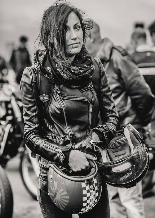 habermannandsons:  Moto Girl II